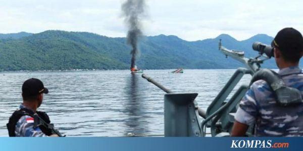 Jokowi: Penenggelaman Kapal Ilegal Masalah Kriminal, Bukan ...