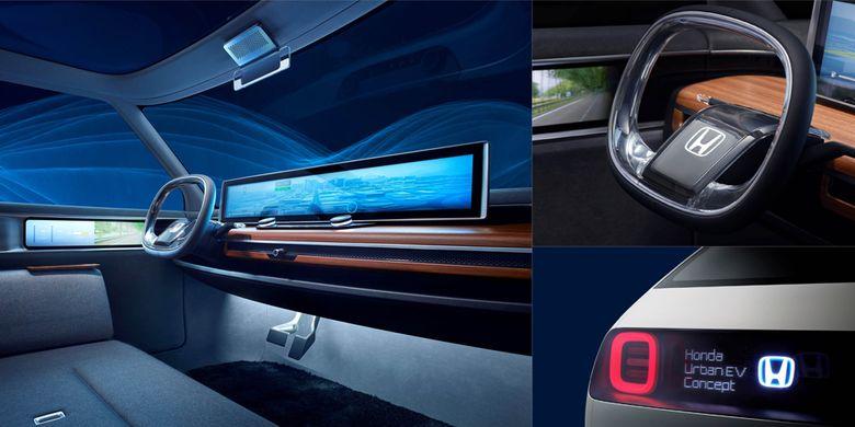 Honda Urban EV Mobil Listrik Berparas Retro  Kompascom