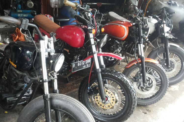 Motor Modifikasi Terkini Bengkel Modifikasi Motor Vixion Di Makassar