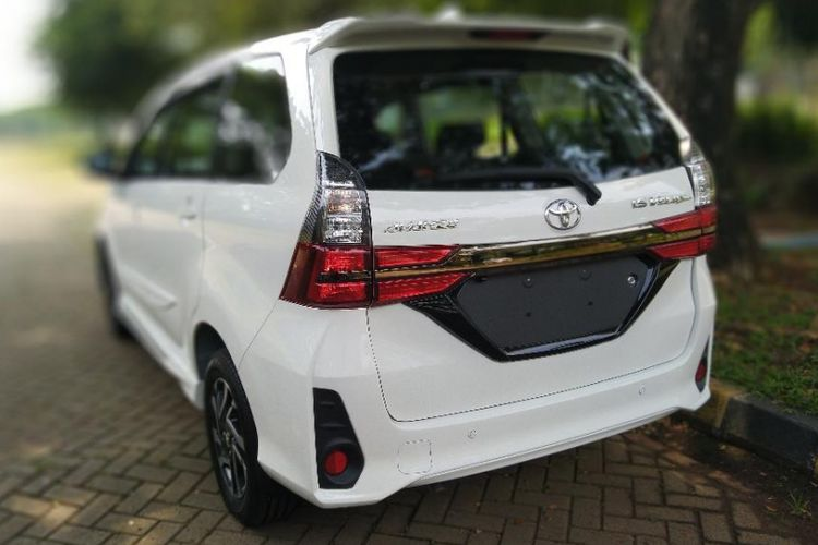 all new toyota avanza veloz 2019 harga grand exterior of facelift what are the changes back