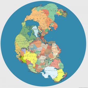 Kata Ilmuwan Inggris 7 Benua Akan Bergabung Menjadi Satu Daratan