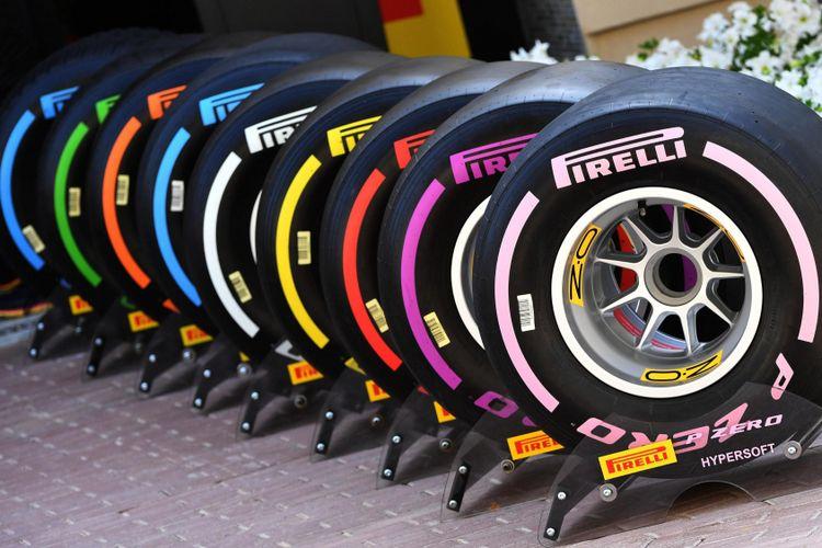 Pilihan ban Pirelli untuk Formula 1 musim 2018.