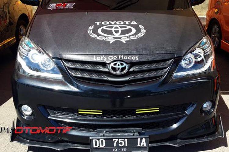 harga grand new avanza di makassar agya trd 2019 jual mobil bekas modifikasi siap jatuh kompas com toyota dalam pop you up 2015