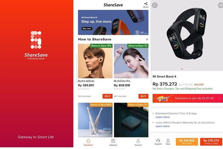ShareSave Xiaomi
