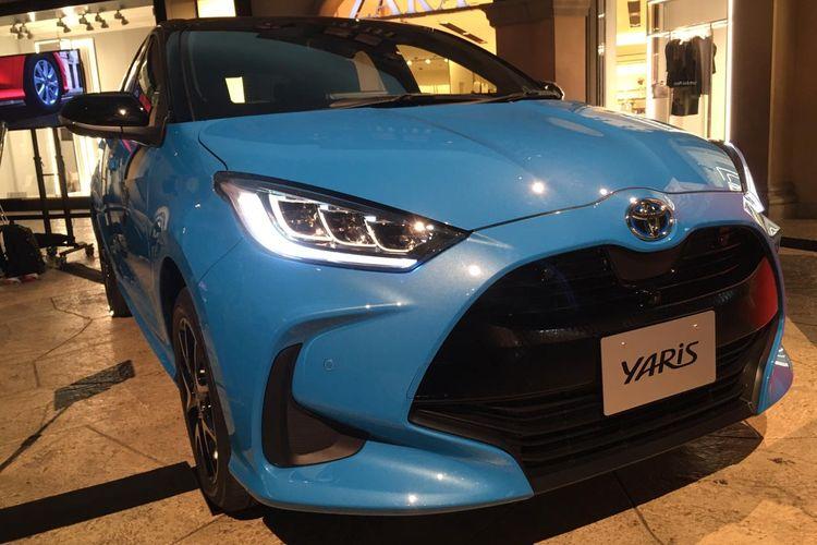 Toyota Yaris di Tokyo Motor Show 2019