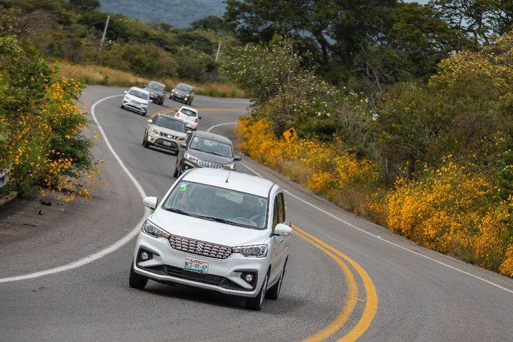Ertiga доминирует в экспортной деятельности Suzuki Indonesia в Мексику