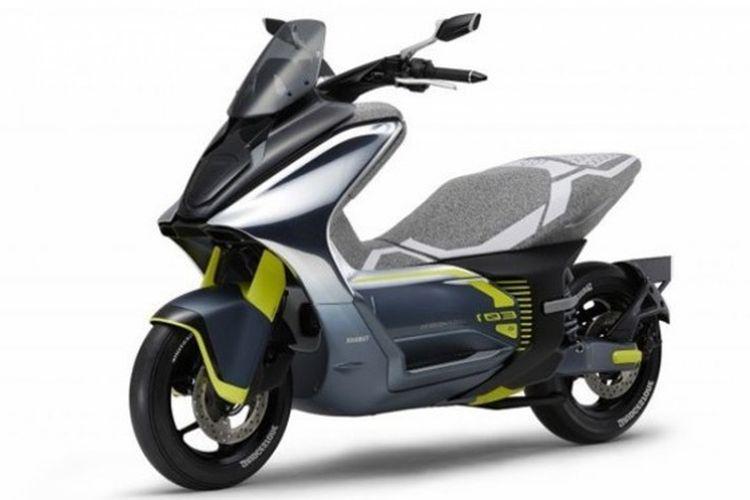 Yamaha E01 di Tokyo Motor Show 2019