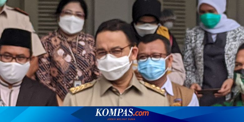 Anies Asks the Center to Take Over Covid-19 Transport Coordination in Jabodetabek