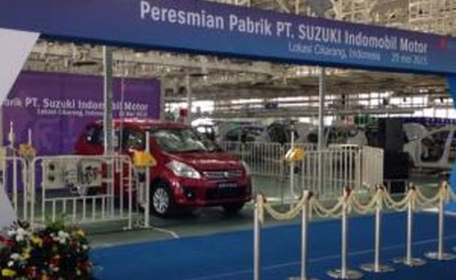 Suzuki Resmikan Pabrik Di Cikarang Senilai 1 Miliar Dollar As