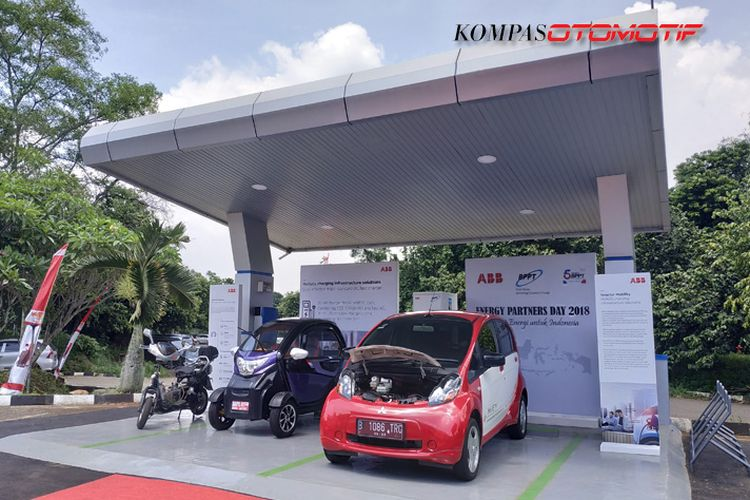 BPPT Mulai Inovasi Charging Station