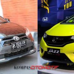 Toyota Yaris Trd Vs Honda Jazz Rs Grand New Avanza Autonetmagz Perbandingan Harga Dan Terbaru Kompas Com
