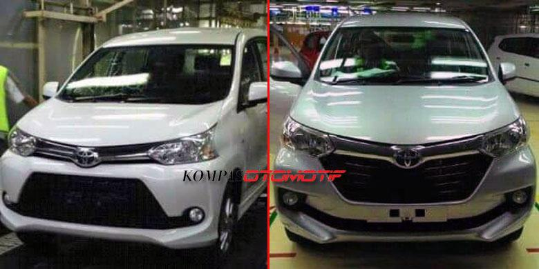 pilihan warna grand new avanza 2015 type g 2018 ini baru major change kompas com