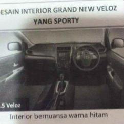 Keluhan Grand New Veloz Avanza E Abs Nih Bocoran Interior Kompas Com