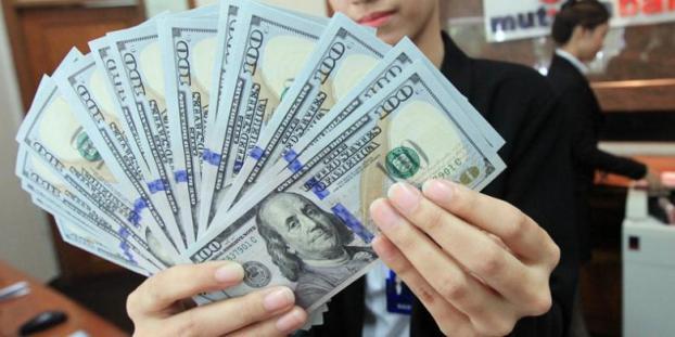 Nilai Kurs Rupiah di Empat Bank Besar