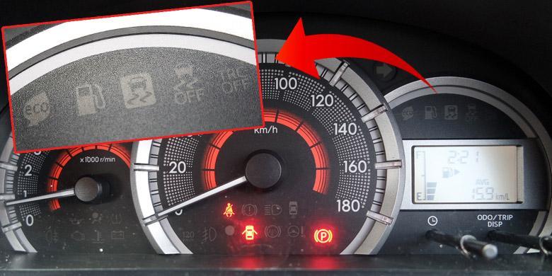 speedometer grand new avanza toyota yaris trd 2018 indonesia sebenarnya punya fitur traction control kompas com febri ardani kompasotomotif dirancang bisa mengaopsi teknologi kontrol traksi elektronik atau vehicle stability vsc