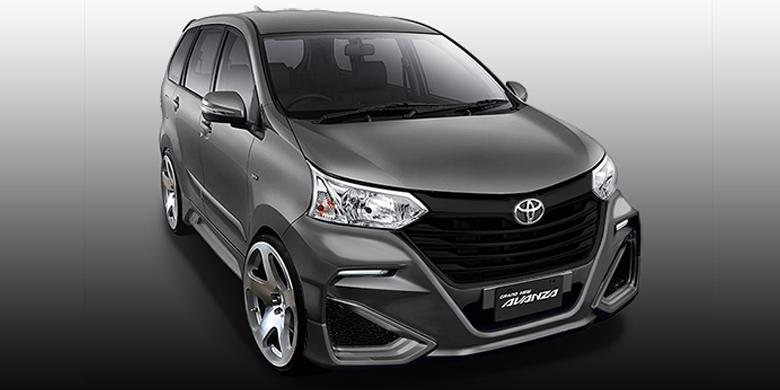 grand all new avanza 2016 veloz 1.5 modifikasi keren berwajah honda d concept kompas com