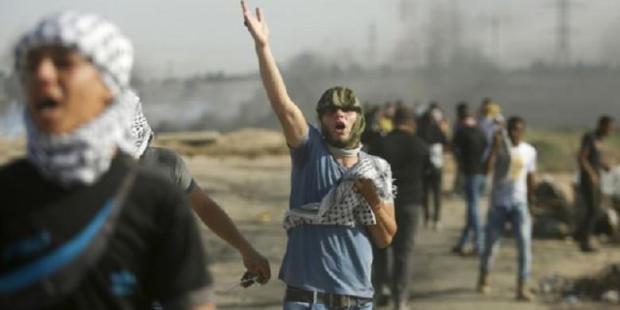 Rakyat Palestina Protes Serangan Israel ke Masjid Al-Aqsha