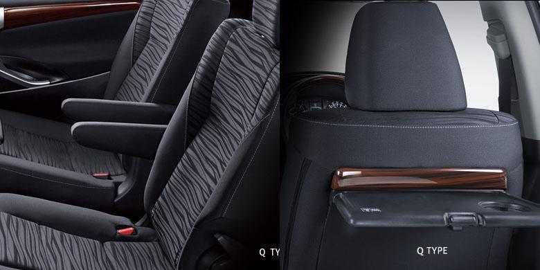 meja lipat all new kijang innova 2.4 a/t diesel ubah kursi baris kedua jadi captain seat kompas com