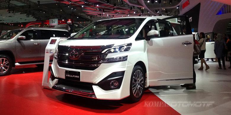 harga mobil all new vellfire grand avanza veloz interior toyota indonesia tampikan terbaru kompas com ghulam kompasotomotif tipe g limited