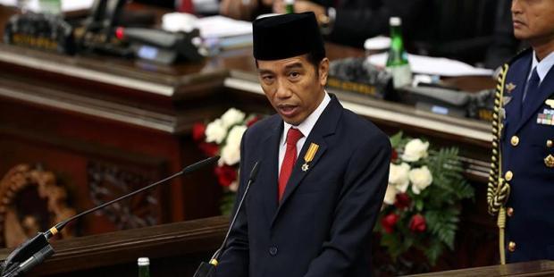 Pidato Kenegaraan Pertama Presiden Joko Widodo