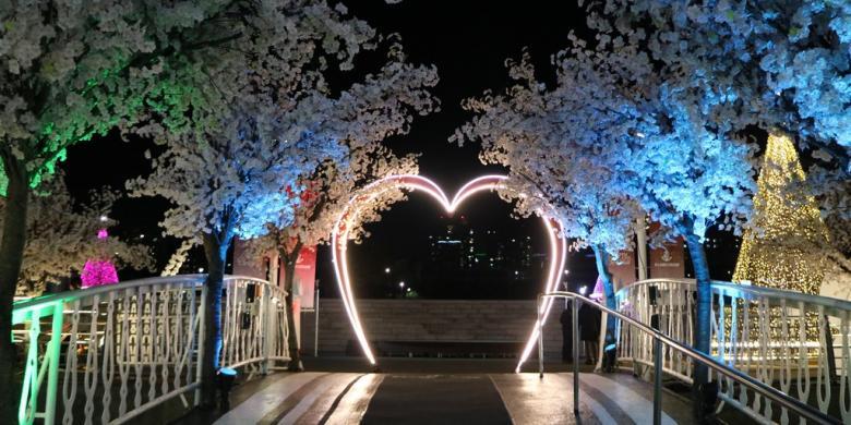 Terhanyut Romantisme Sungai Han di Seoul  Kompascom