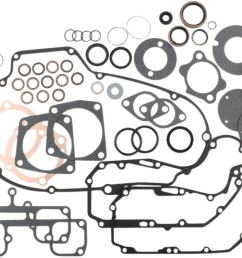 cometic ironhead engine gasket kit 77 85 harley sportster xlch xlx xlh jt s cycles [ 1200 x 753 Pixel ]