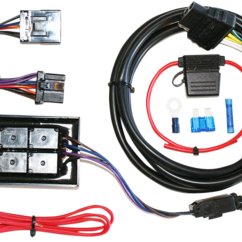 Harley Davidson Tail Light Wiring Diagram Battery Club Car Ds Harness Receptacle Vacuum Auto