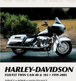 clymer service repair manual harley davidson 99 05 flht flt 88 103 flhr jt s cycles [ 829 x 1200 Pixel ]