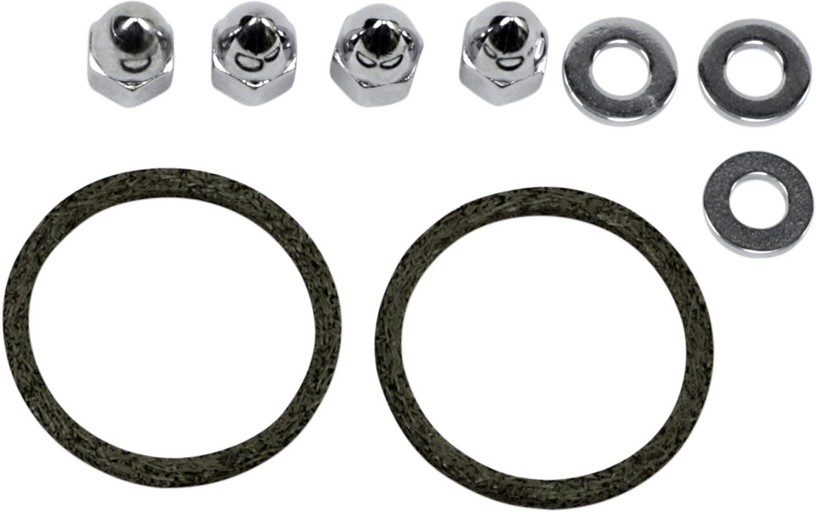 James Gasket Exhaust Gasket & Nut Kit for 86-19 Harley Big