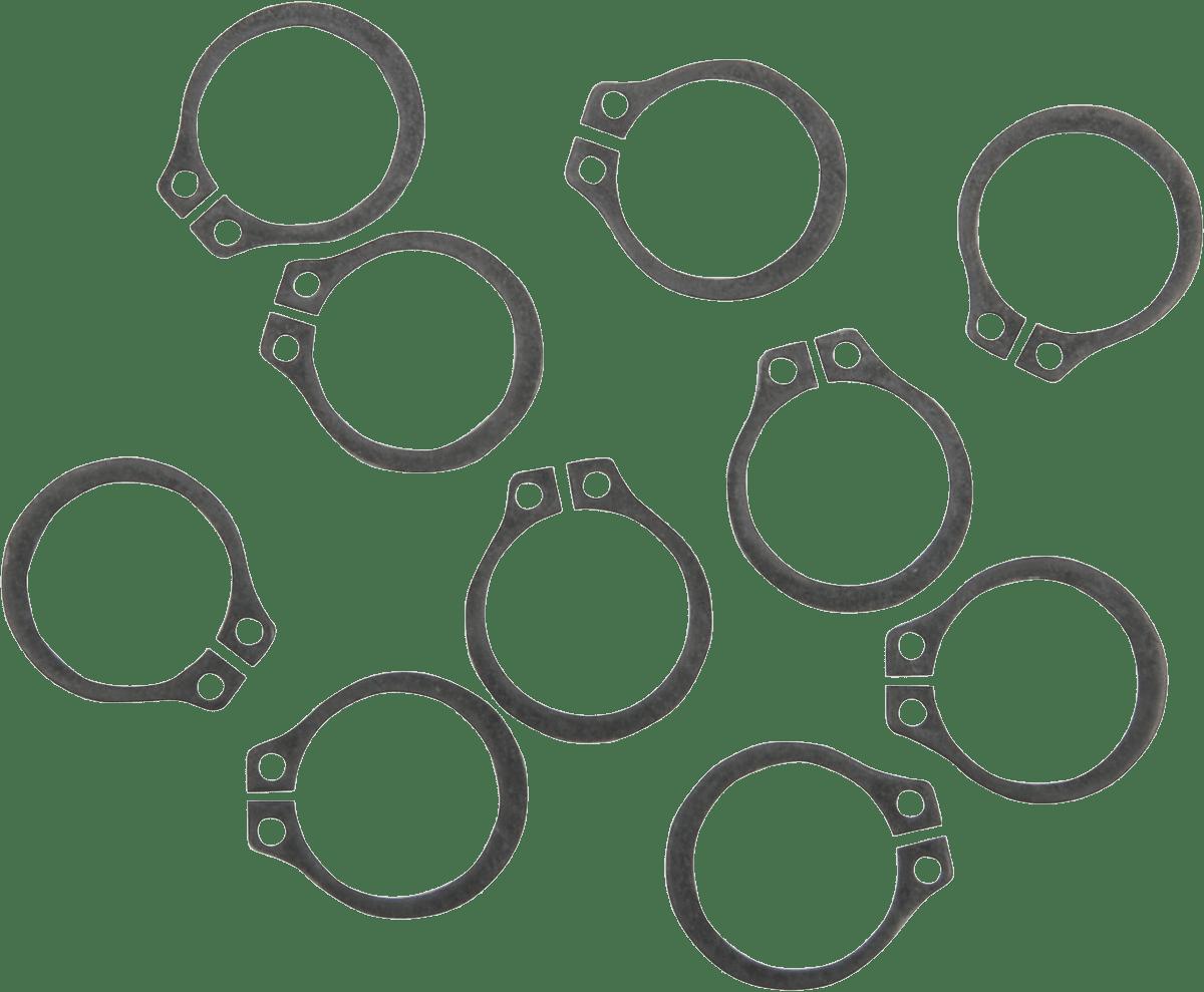 Eastern 10 Pack Oil Pump Retainer Snap Rings for 54-05