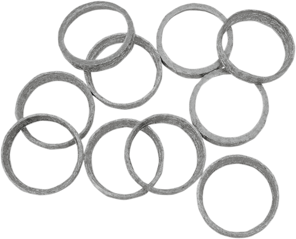 Drag Specialties Single Exhaust Port Gasket for 86-19