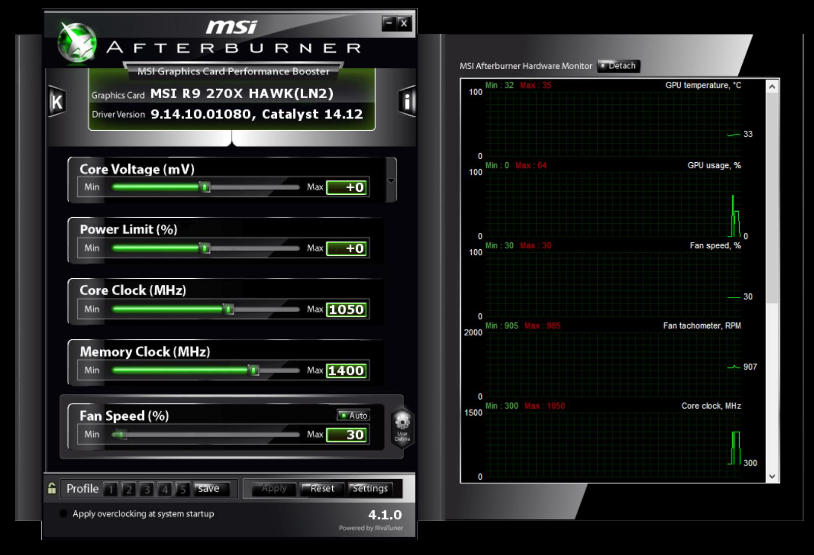 Help with overclocking my MSI GTX 970 4GD5T OC. : overclocking