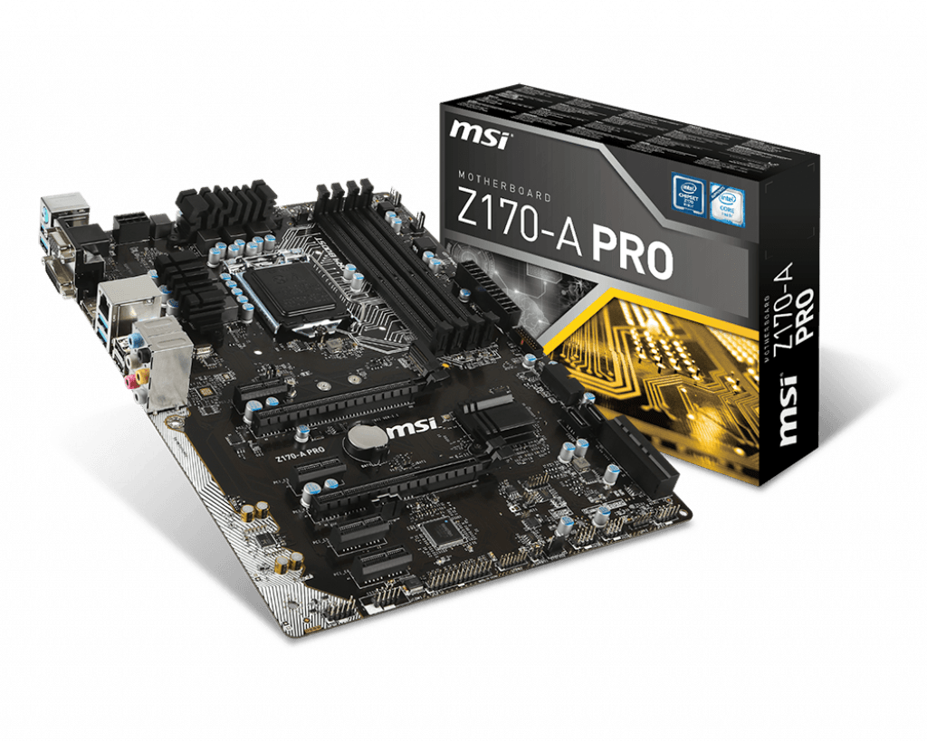 hight resolution of intel z170 motherboards z170 a pro