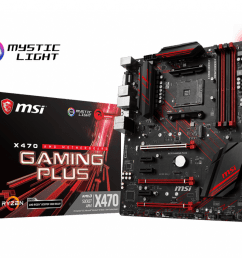 support for x470 gaming plus motherboard the world leader in motherboard design msi global [ 1024 x 820 Pixel ]