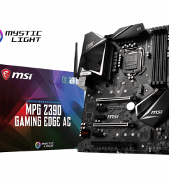 support for mpg z390 gaming edge ac motherboard the world leader in motherboard design msi global [ 1024 x 820 Pixel ]