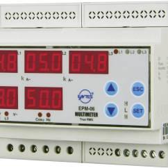 3 Phasen Strom Part Venn Diagram Template Entes Epm 06cs Din Programmierbares Schienen Ac