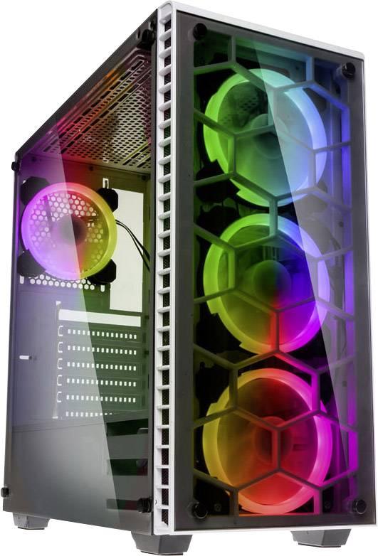 Kolink MidiTower PCGehuse Observatory RGB Wei 4