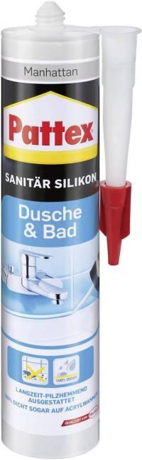 Pattex Dusche & Bad Silikon Farbe Manhatten PFDBM 300ml ...