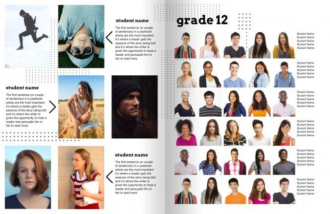 snapchat yearbook theme page 5