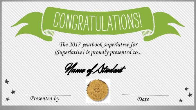 Superlative Certificates Template Updated —TreeRing