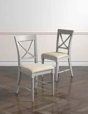 bedroom chair m&s gold's gym massage grey dining tables chairs m s set of 2 greenwich