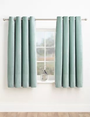 Chenille Eyelet Curtains  MS Collection  MS