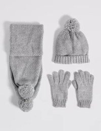 Kids Hats & Scarves with Gloves Sets | M&S