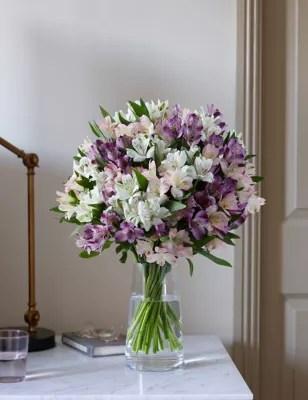 Alstroemeria Abundance Bouquet MampS