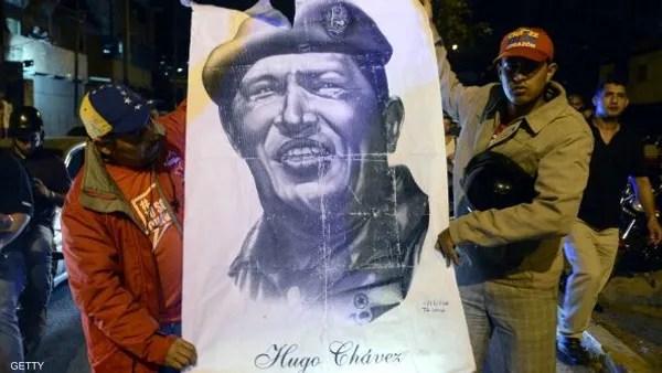 هوغو تشافيز ,   فنزويلا ,   الرئيس الفنزويلي ,   وفاة تشافيز