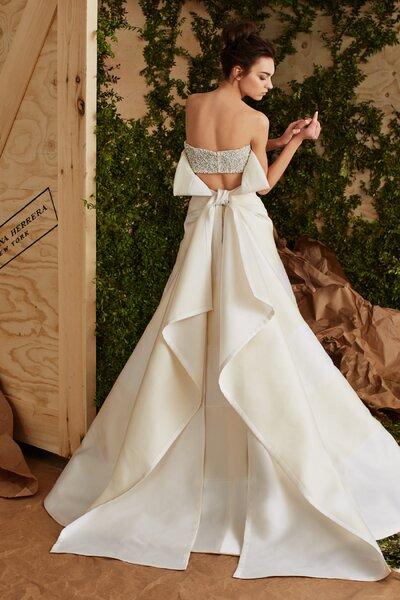 Brautkleider von Carolina Herrera fr 2017 Romantik und