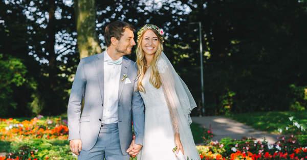 Wie das Brautpaar vor und whrend der Hochzeit die Nerven