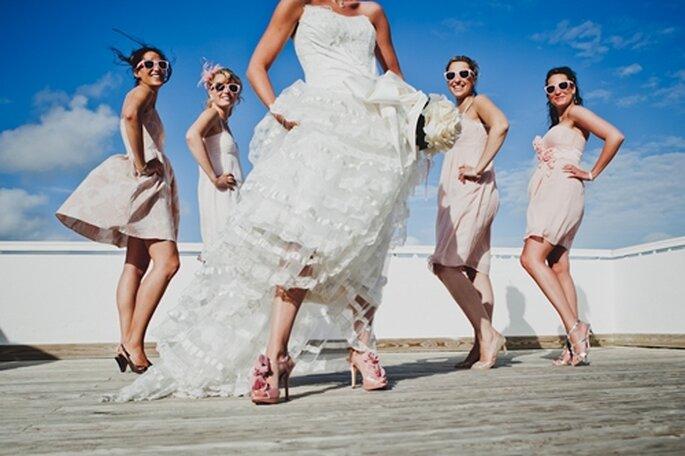 Aufgaben der Brautjungfer  Es gibt viel zu tun