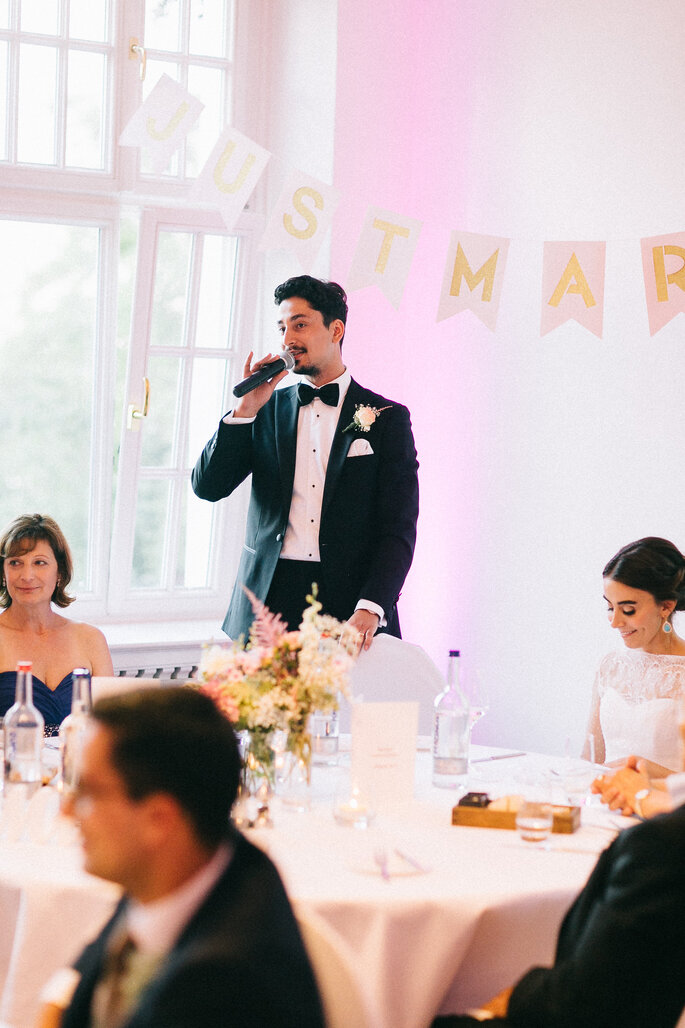 Wie Sie eine unterhaltsame Hochzeitsrede halten  als