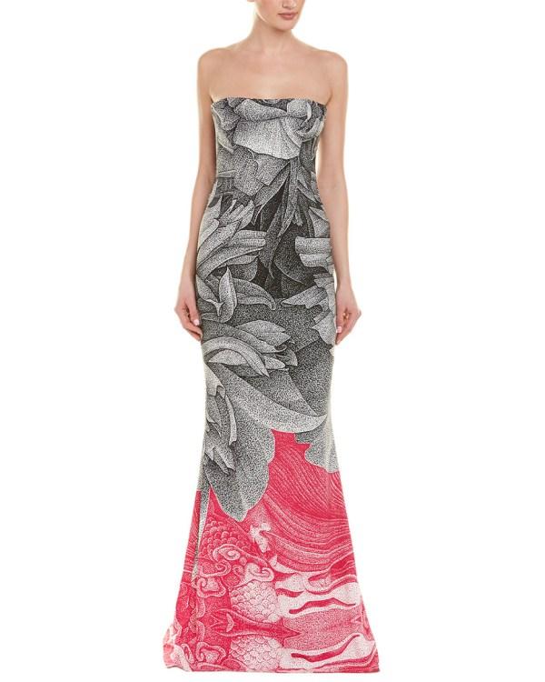 Escada Silk-blend Gown